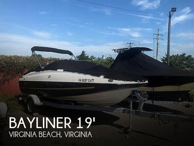 Used Bayliner Deck Boats For Sale by owner | 2016 Bayliner 19