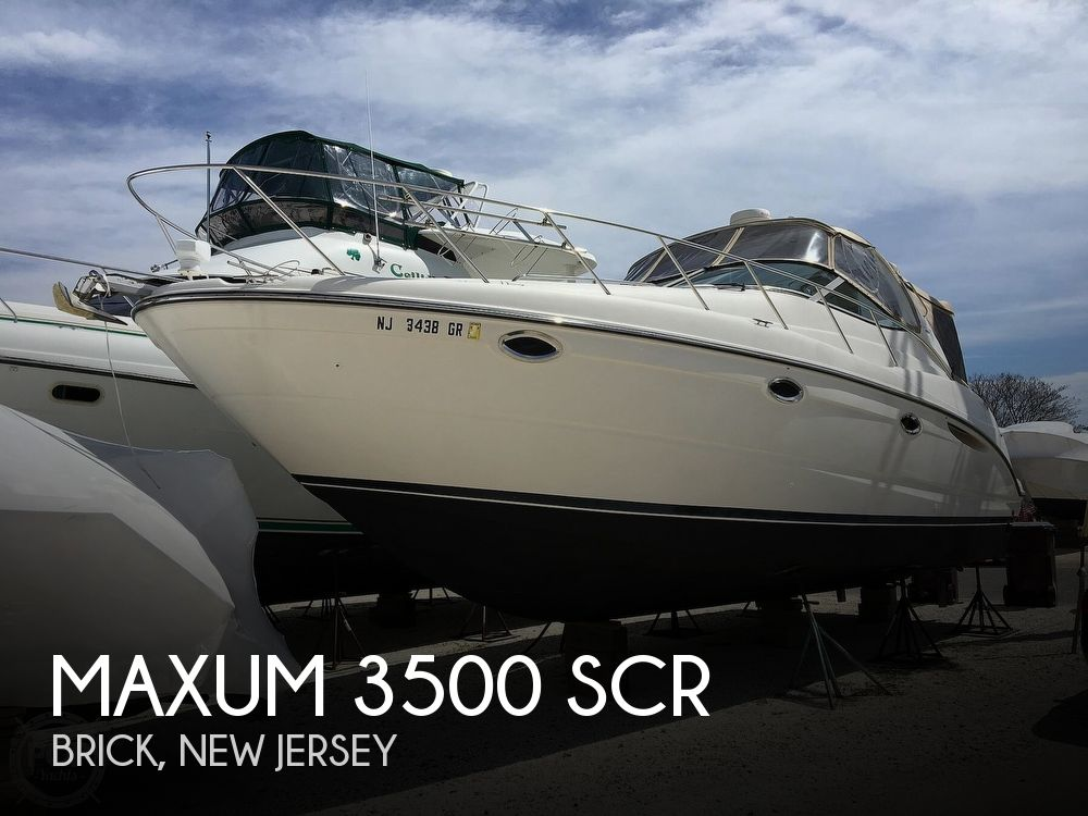 Used Maxum Boats For Sale by owner | 2001 Maxum 3500 SCR
