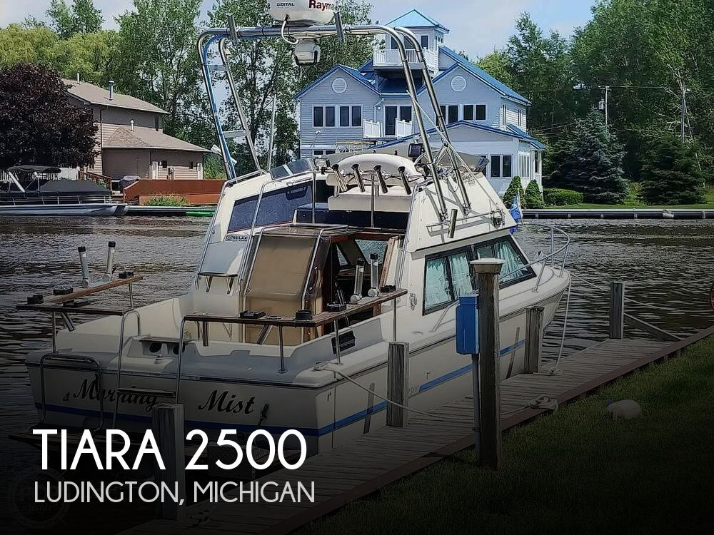 Used Tiara Boats For Sale in Michigan by owner   1978 Tiara 2500 Sport Salon