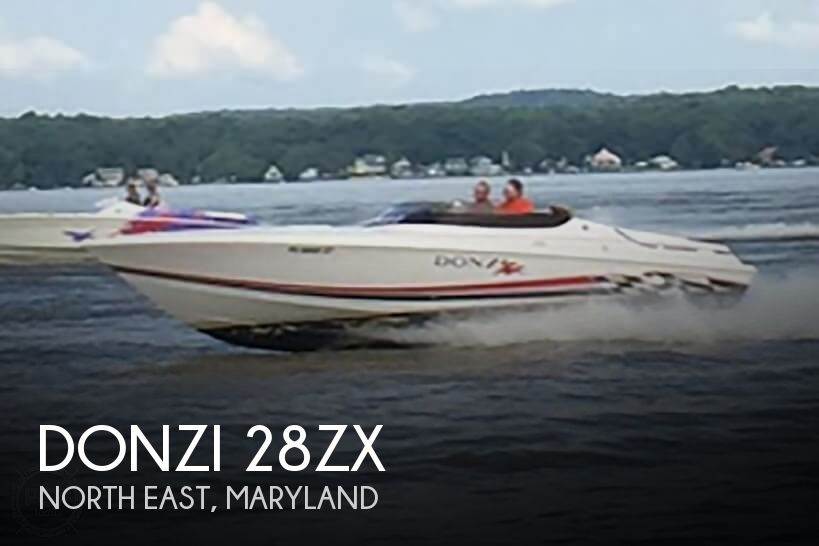Used Boats For Sale in Reading, Pennsylvania by owner | 2001 Donzi 28ZX