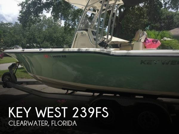 Used Key West Boats For Sale by owner | 2016 Key West 239fs