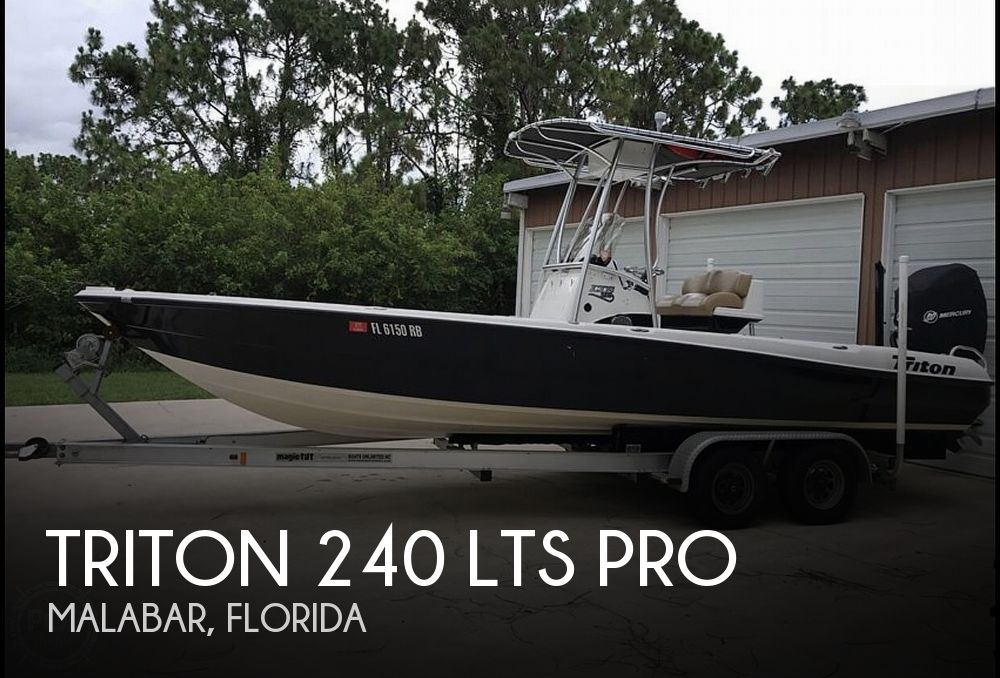 Used Triton  Boats For Sale by owner | 2006 Triton 240 LTS Pro