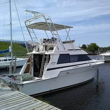 1989 Luhrs boat for sale, model of the boat is 342 Tournament Sportfish & Image # 3 of 9