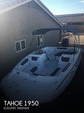 2018 Tahoe boat for sale, model of the boat is 1950 & Image # 1 of 21