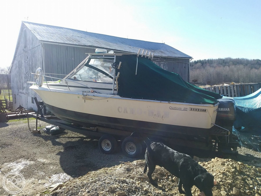 1988 Phoenix boat for sale, model of the boat is 28 Custom & Image # 3 of 25