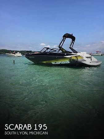 Used Scarab Boats For Sale in Michigan by owner | 2017 Scarab 195 HOI