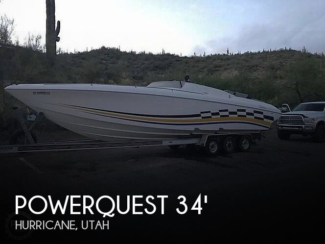Used Powerquest Boats For Sale by owner | 1999 Powerquest 340 Viper