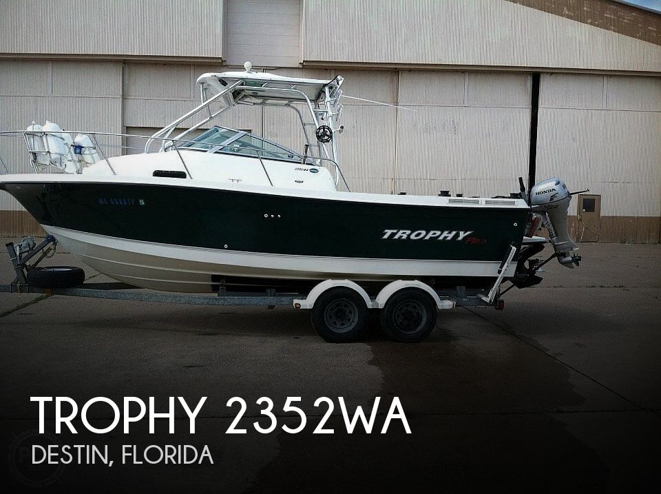 Used Trophy Boats For Sale by owner | 2005 Trophy 2352WA