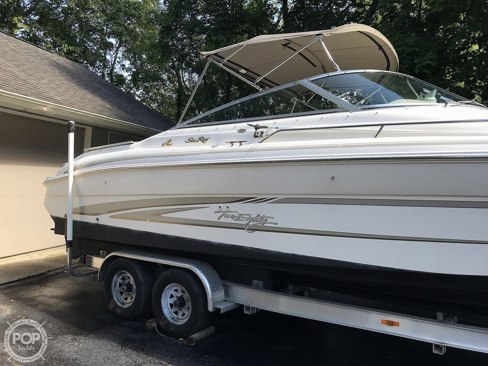 1997 Sea Ray boat for sale, model of the boat is 280 Bow Rider & Image # 7 of 41