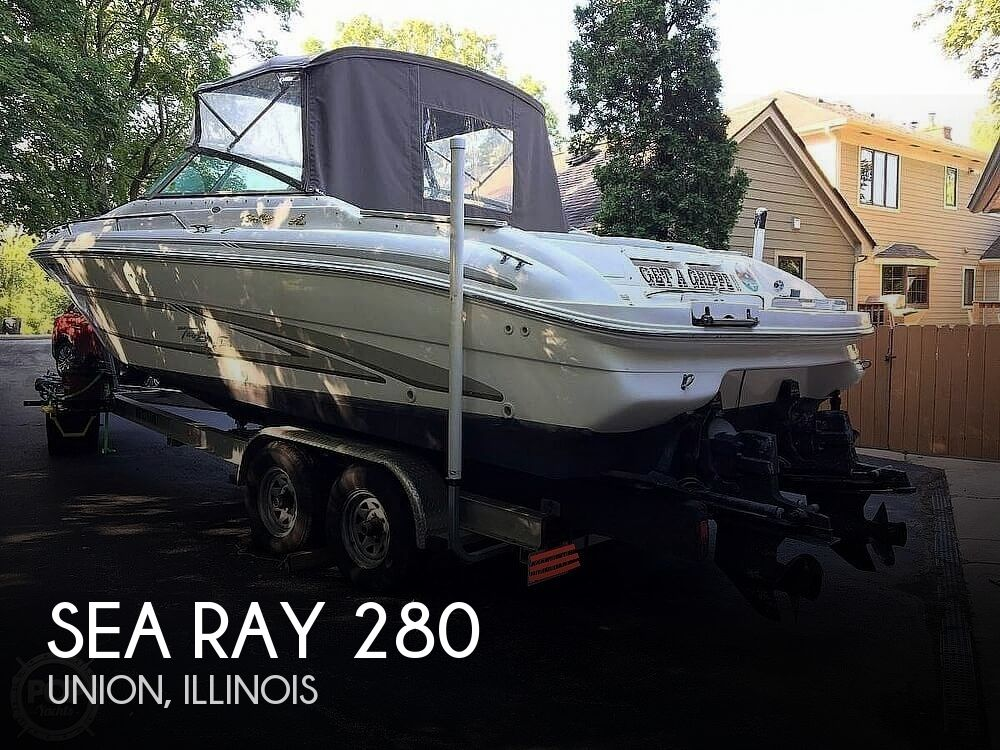 1997 Sea Ray boat for sale, model of the boat is 280 Bow Rider & Image # 1 of 41