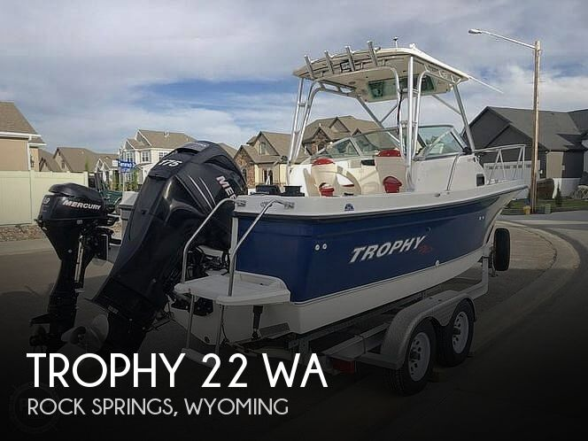Used Trophy Boats For Sale by owner | 2006 Trophy 22 WA