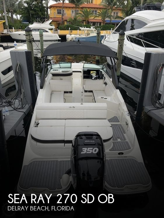 Used Deck Boats For Sale by owner | 2019 Sea Ray 270 SD OB