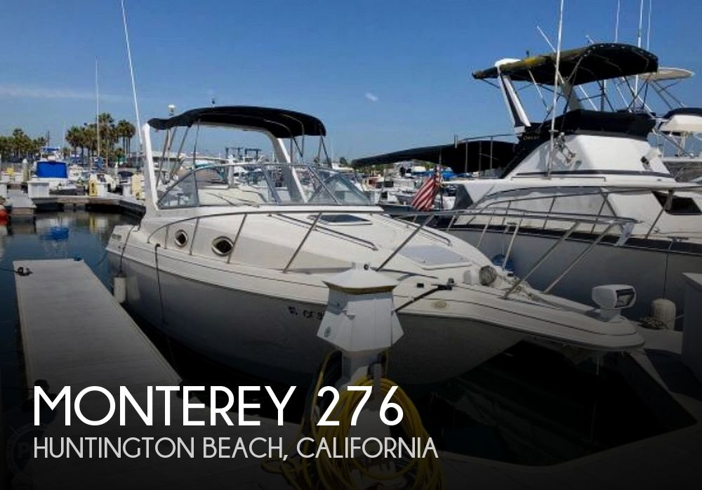 Used Monterey Boats For Sale in California by owner | 1999 Monterey 276 Cruiser