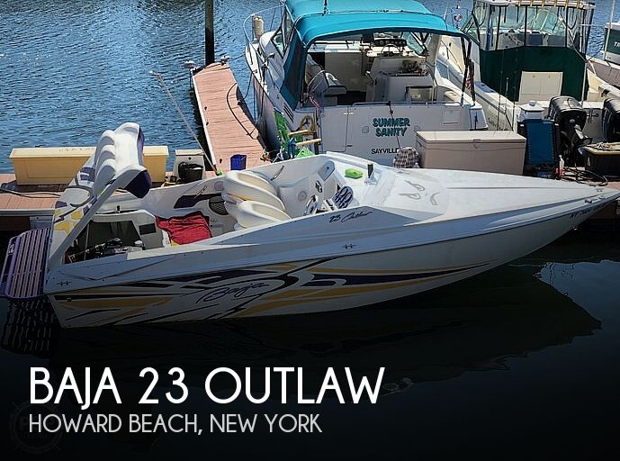 2005 Baja boat for sale, model of the boat is 23 outlaw & Image # 1 of 41