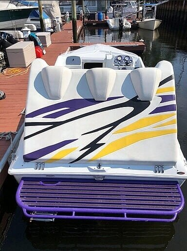 2005 Baja boat for sale, model of the boat is 23 outlaw & Image # 5 of 41
