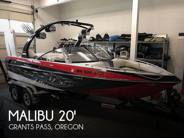 Used Boats For Sale in Medford, Oregon by owner | 2007 Malibu 20