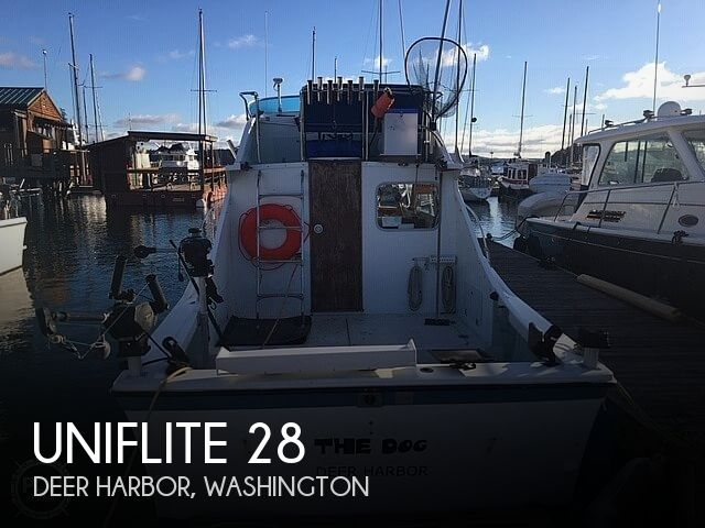 Used Uniflite Boats For Sale in Washington by owner | 1972 Uniflite 28 Sportfish Convertible