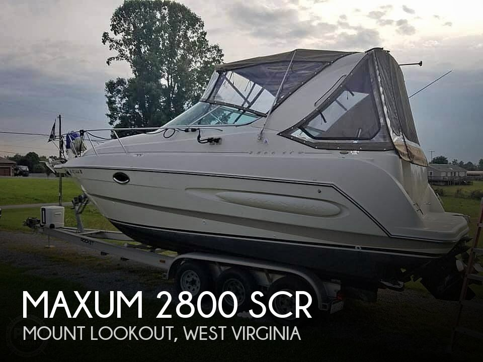 Used Power boats For Sale in West Virginia by owner | 2000 Maxum 2800 Scr