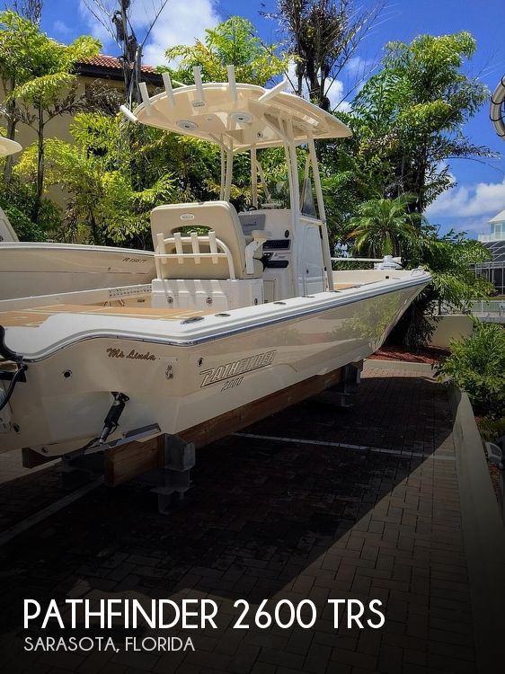 Used Pathfinder Boats For Sale by owner | 2017 Pathfinder 2600 TRS