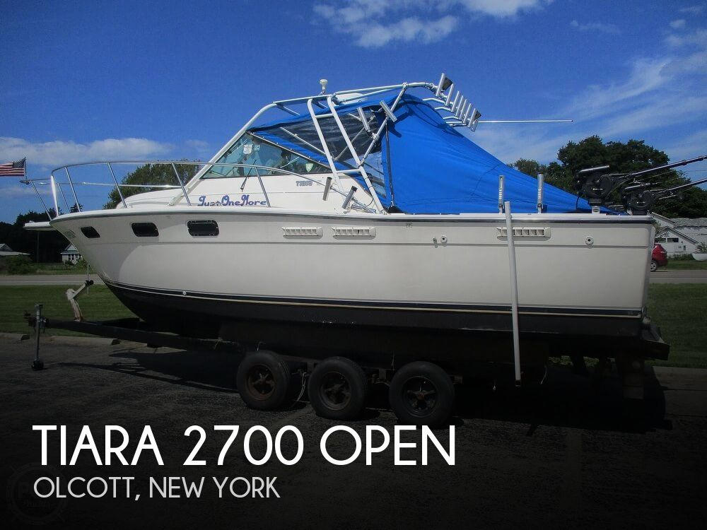 1989 TIARA YACHTS 2700 OPEN for sale