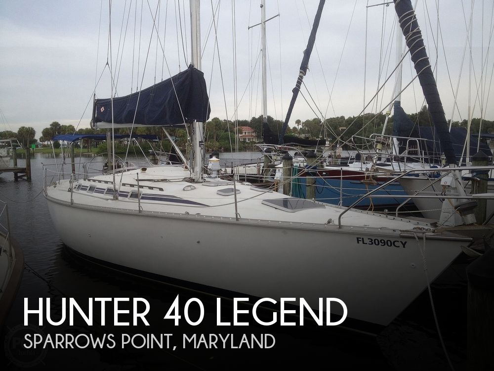 Used Hunter Sailboats For Sale in Maryland by owner | 1988 Hunter 40 Legend