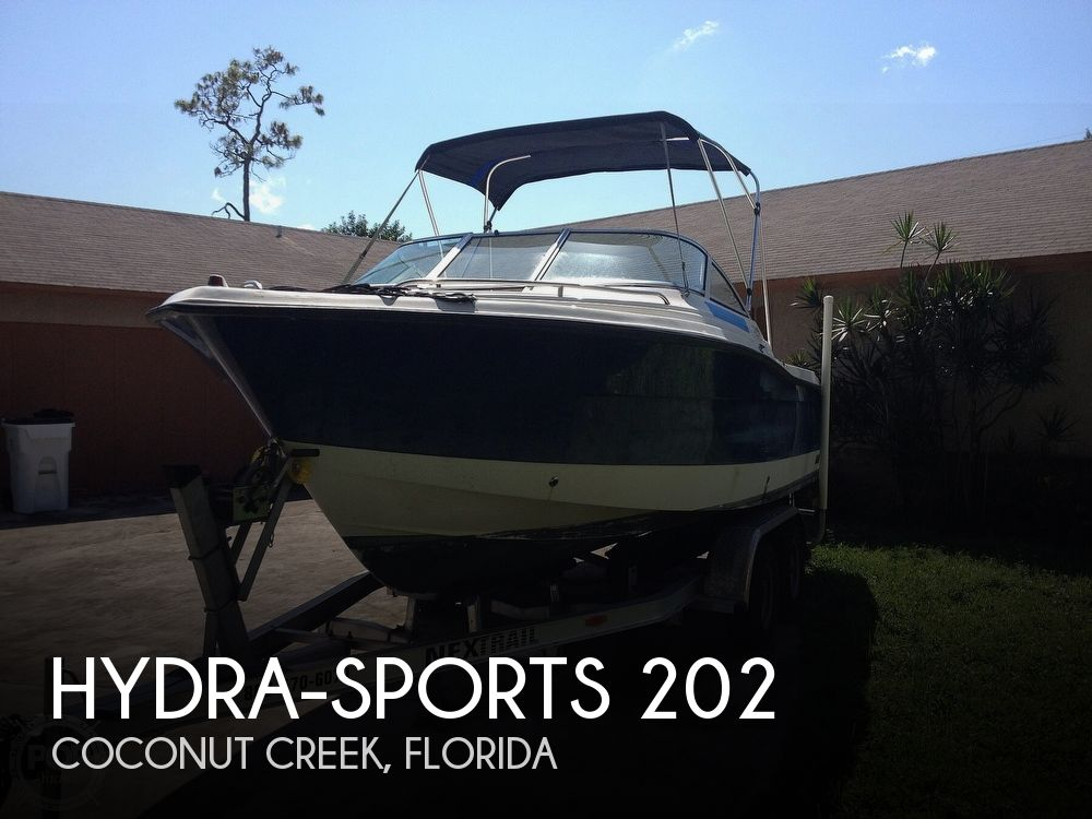 2007 Hydra-Sports boat for sale, model of the boat is 202 Dual Console & Image # 1 of 41