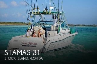 Used Stamas Boats For Sale by owner   1999 Stamas 31