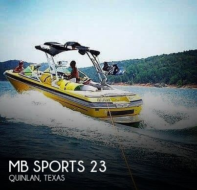 Used MB Sports Boats For Sale by owner | 2013 MB Sports 23