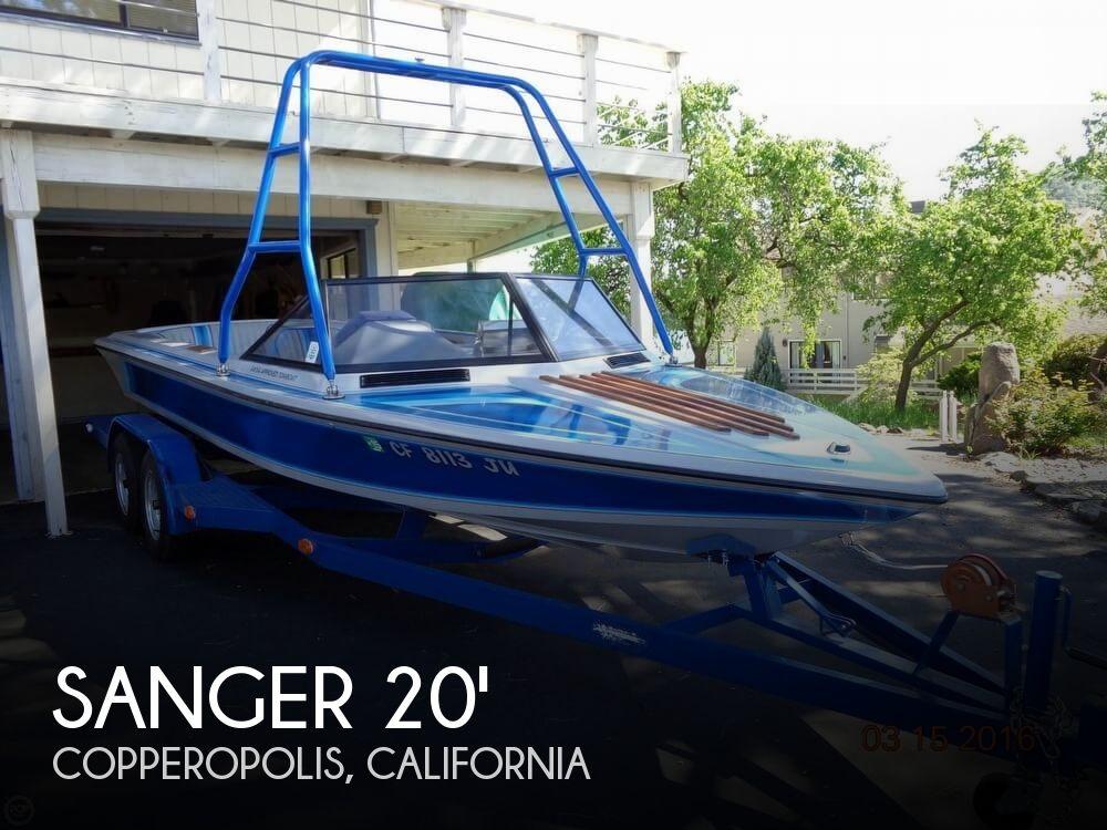 Used SANGER Boats For Sale by owner   1989 Sanger 20