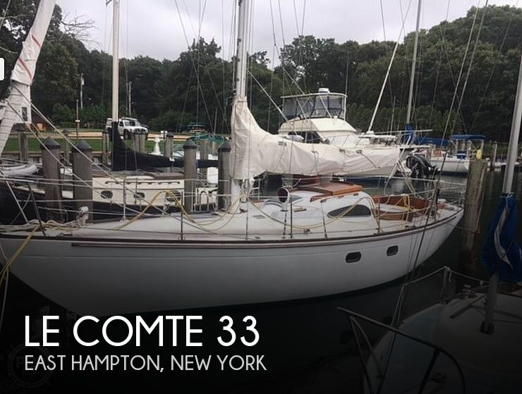 Used Sailboats For Sale by owner | 1964 Le Comte 33 Medalist