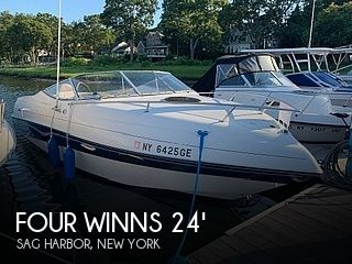 Used Four Winns Boats For Sale in New York by owner | 1996 Four Winns 245 Sundowner