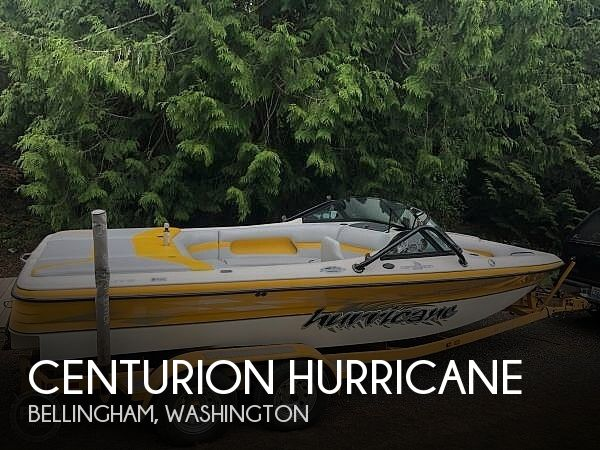 Used Centurion Boats For Sale in Washington by owner   2002 22 foot Centurion Hurricane