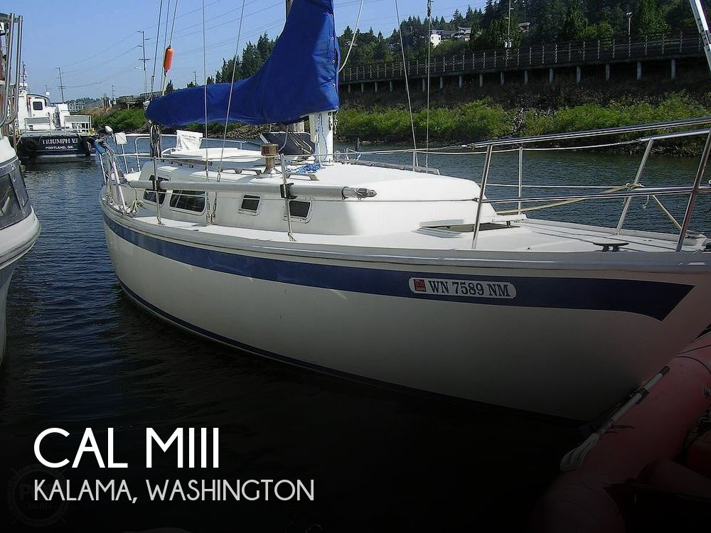 Used Cal Boats For Sale by owner | 1977 34 foot CAL MIII