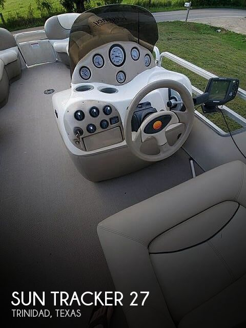 2001 Sun Tracker boat for sale, model of the boat is 27 Party Barge & Image # 1 of 33