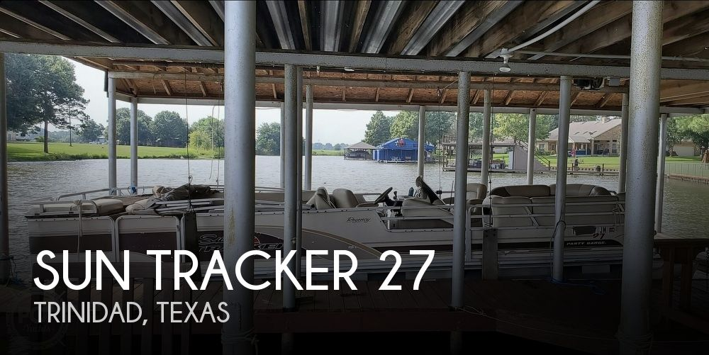 2001 Sun Tracker boat for sale, model of the boat is 27 Party Barge & Image # 1 of 40