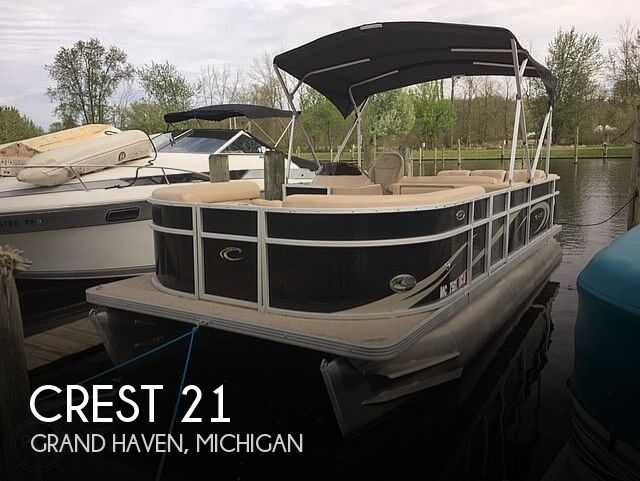 Used Crest Pontoon Boats For Sale in Michigan by owner | 2012 Crest 21