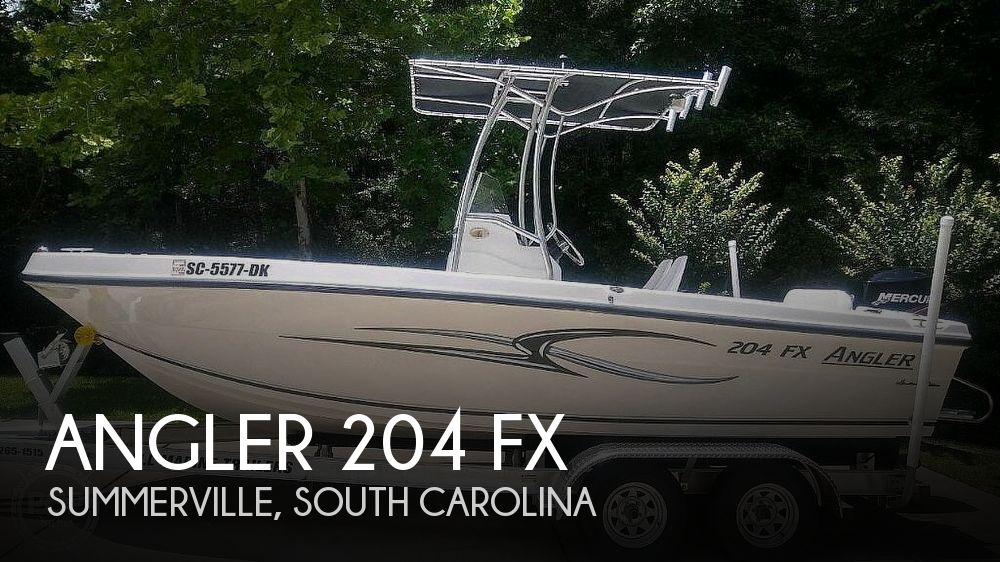 Used Angler Boats For Sale by owner | 2010 Angler 204 FX