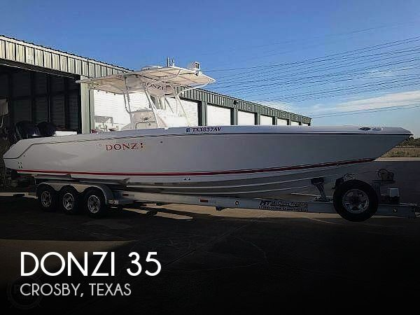 Used Boats For Sale in Beaumont, Texas by owner | 2007 Donzi 35