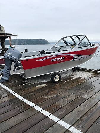 Hewescraft 16 Sportsman, 16, for sale - $24,750