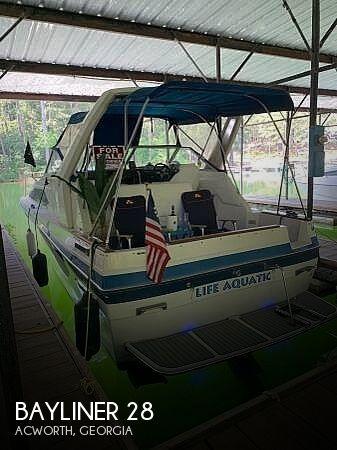 Used Bayliner Boats For Sale in Georgia by owner | 1988 Bayliner 28