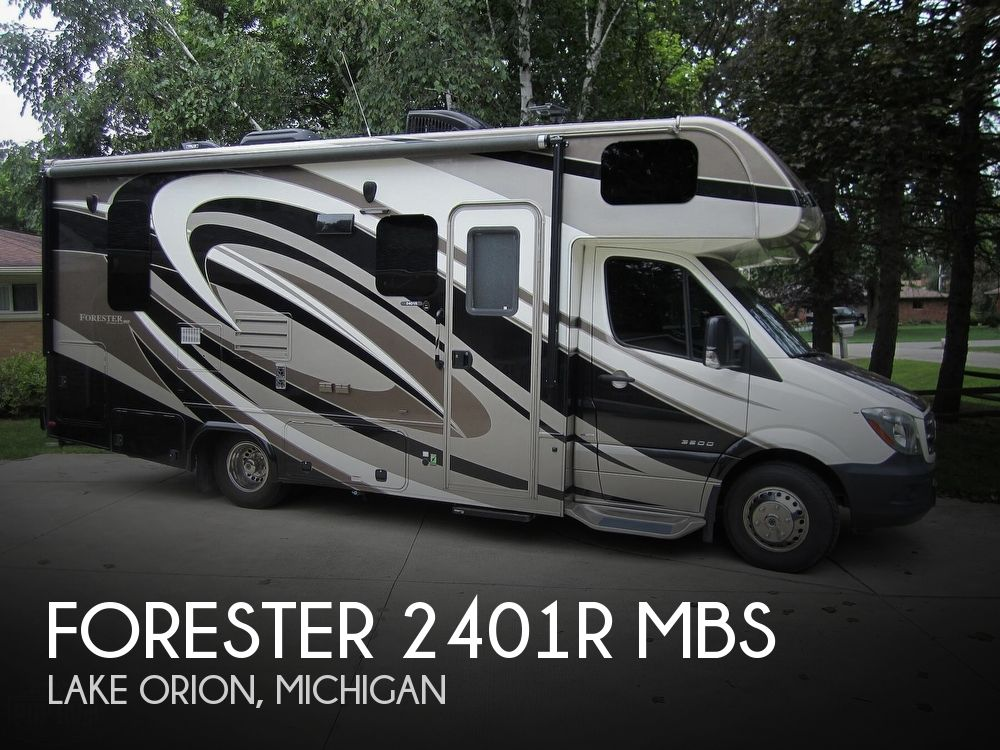 2017 Forest River Forester 2401R MBS