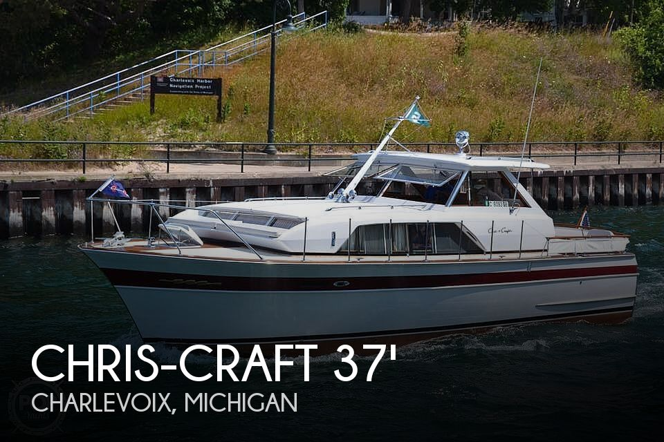Used Chris-Craft Boats For Sale in Michigan by owner | 1966 Chris-Craft 37 Constellation