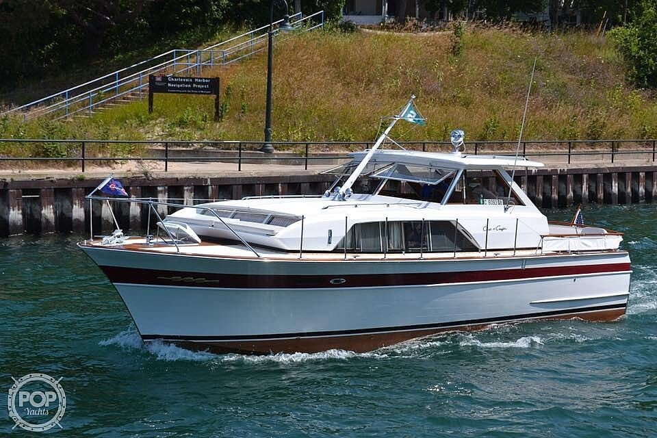 1966 Chris Craft boat for sale, model of the boat is 37 Constellation & Image # 6 of 40