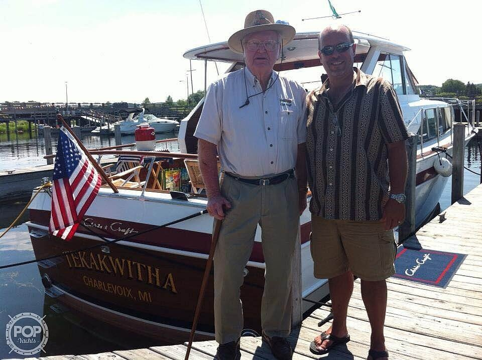 1966 Chris Craft boat for sale, model of the boat is 37 Constellation & Image # 12 of 40