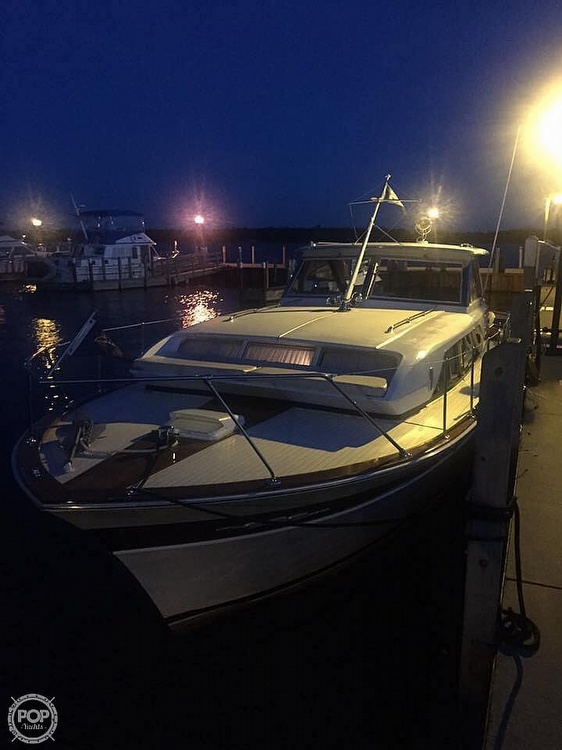 1966 Chris Craft boat for sale, model of the boat is 37 Constellation & Image # 13 of 40