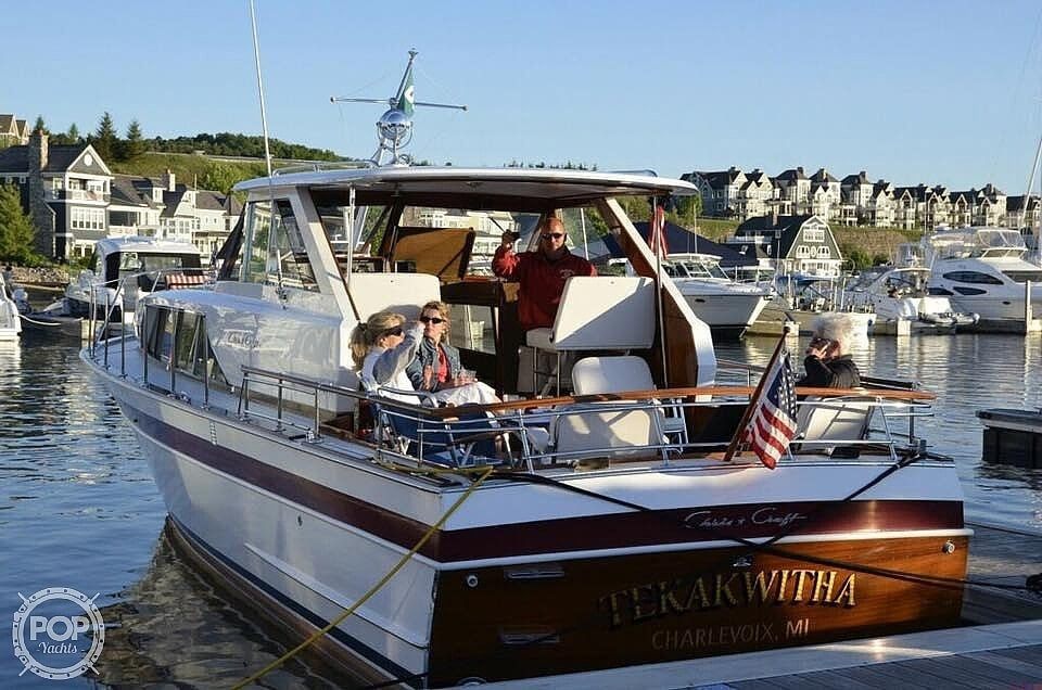 1966 Chris Craft boat for sale, model of the boat is 37 Constellation & Image # 17 of 40
