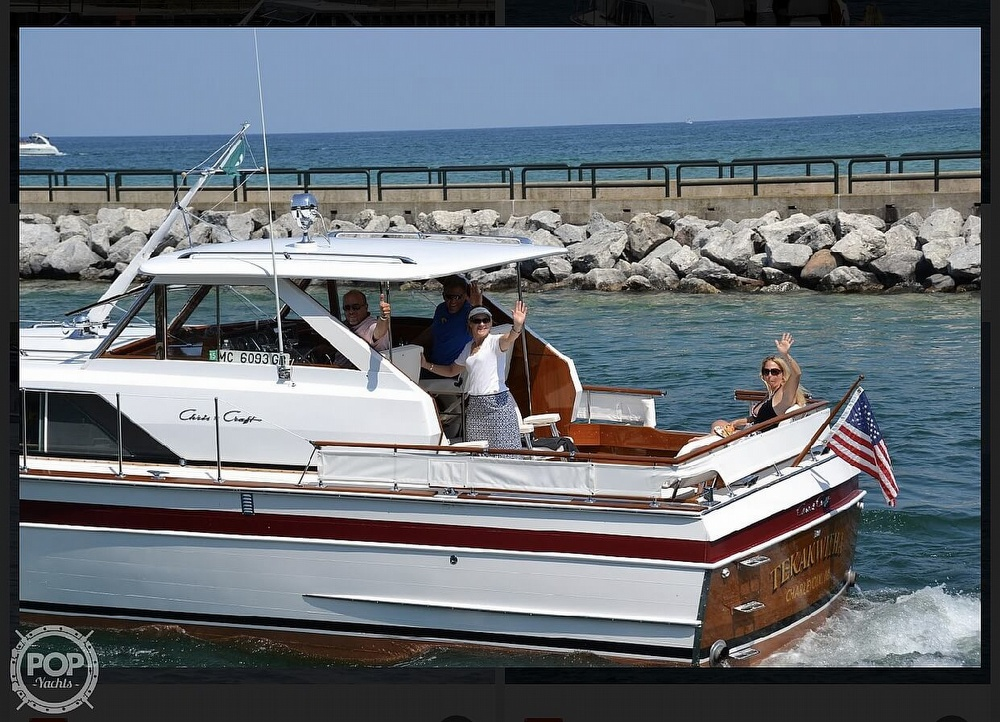 1966 Chris Craft boat for sale, model of the boat is 37 Constellation & Image # 24 of 40