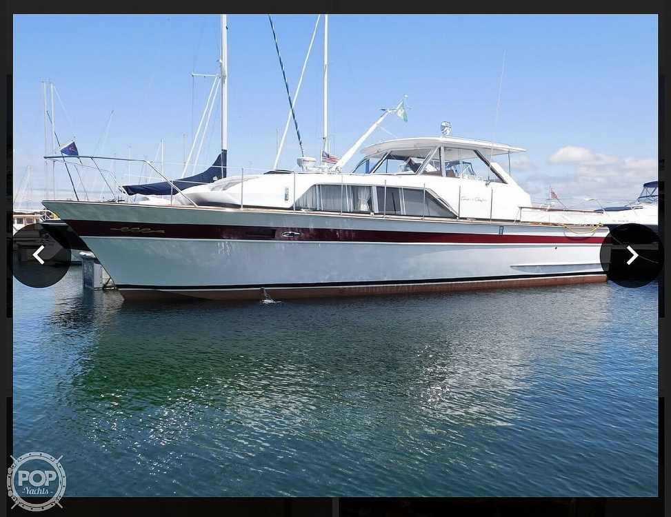 1966 Chris Craft boat for sale, model of the boat is 37 Constellation & Image # 27 of 40