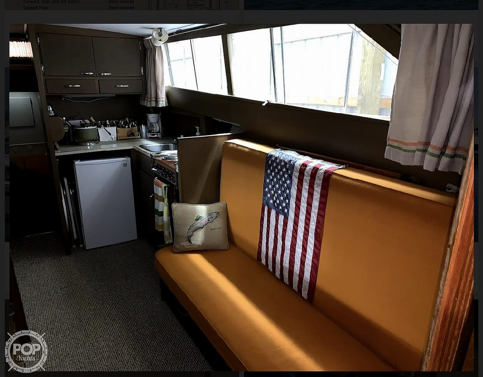 1966 Chris Craft boat for sale, model of the boat is 37 Constellation & Image # 36 of 40