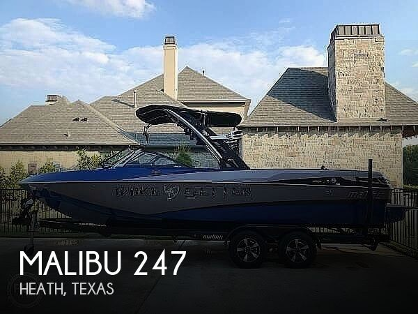 Used Boats For Sale in Dallas, Texas by owner | 2013 Malibu Wakesetter 247 LSV